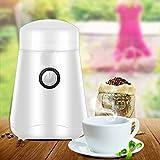 MOMO Macinacaffè elettrico, macinino domestico, mulino, macchina per caffè professionale, macinacaffè 220v,nero,Taglia unica