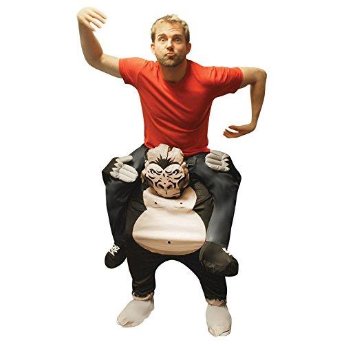 Morph MCPBGO Mach es selbst Füllung Halloween Karneval Huckepack Kostüm, Gorilla, - Gorilla Kostüm Piggy Back