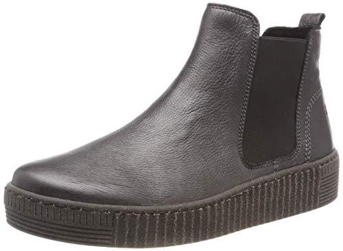 Gabor Shoes Damen Jollys Schlupfstiefel, Grau (Grey (Anthrazit) 29), 38 EU