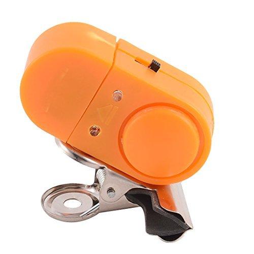 Deal Mux plastique Canne à pêche l'intrus Alarme LED Détecteurs de poisson à cloche orange clip