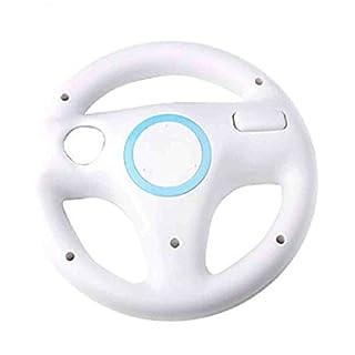 ArturoLudwig Nintendo WII-Wheel - Racing Wheels für Videospiele | 2er Set | Farbe weiß