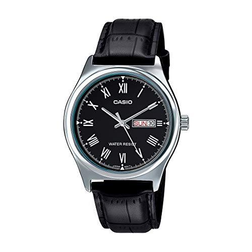 Casio Enticer Analog Black Dial Men's Watch-MTP-V006L-1BUDF (A1016)