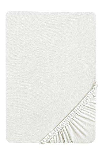 Biberna 77155/019/087 Drap Housse en Jersey Stretch pour un Lit Natural 180 x 200 cm à 200 x 200 cm