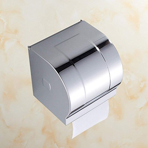 YNG Toilettenpapierhalter Badezimmer - Free Toilettenpapierhalter Edelstahl Toilettenpapier Box Toilettenpapier Handtuch Box Roll Paper Box Wall - Mounted