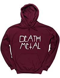 HippoWarehouse Death metal jersey sudadera con capucha suéter derportiva unisex