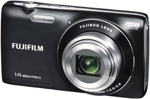 Fujifilm FinePix JZ100 Digitalkamera (14 Megapixel, 8-fach opt. Zoom, 6,9 cm (2,7 Zoll) Display, bildstabilisiert) schwarz