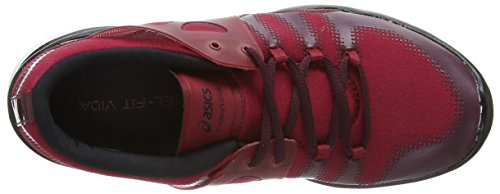 Asics Gel-Fit Vida, Chaussures de Running Entrainement femme Rouge (warm Red/onyx/royal Burgundy 2499)
