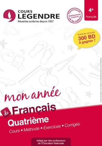 Français 4e Cahier de Vacances 4ème