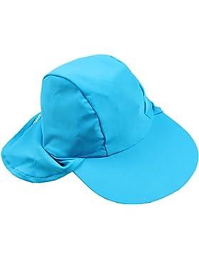 Smiling Shark UV-Hat - Gorra para niños, color turquesa, talla M (2-5 años)