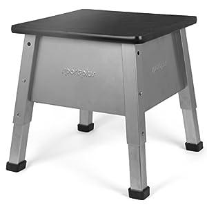 SportPlus PLYO-Box, Sprungkasten für Crossfit und plyometrisches Training, höhenverstellbar, Benutzergewicht bis 120 kg