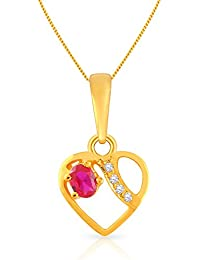 Malabar Gold and Diamonds 22k (916) Yellow Gold Pendant