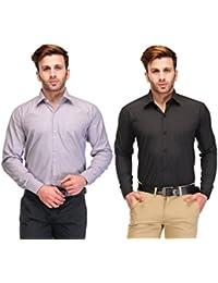 [Sponsored]Koolpals Combo Of 2 Cotton Shirts - B017FK1IV2