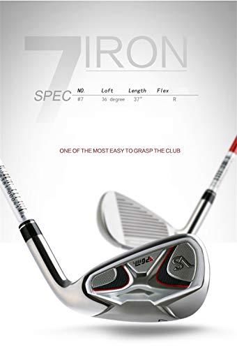 HJJGRASS 7-Eisen-Golfschläger mit Graphitschaft für Rechtshänder von PGM Golf Club für Junior- und Profi-Spieler