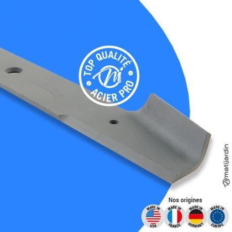 Lame tondeuse pour Yamaha YT 3600 YA1-R236A-00 coupe 49 cm - Pièce neuve