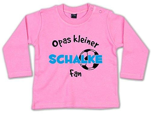 Opas Kleiner Schalke Fan Baby Sweatshirt 268.0278 (3-6 Monate, pink)