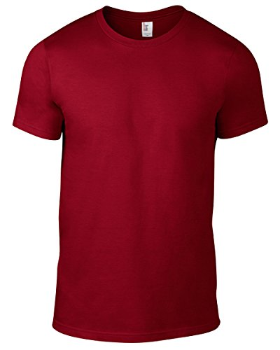 Anvil Herren T-Shirt Rot (Independence Red)
