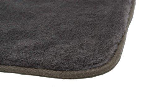 Hundedecke 70 x 100 grau Heim Tier Decke Hunde Katzen - 3