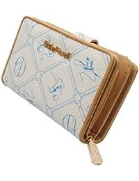 9a36d52cdd7da ☆LT LadiesTrends präsentiert Design Damen Geldbörse von Giulia Pieralli in  XL Format kurz Elegant Luxus Portmonee…