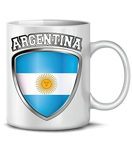 Fútbol–Fan Artículo–Argentina–Taza de café taza d