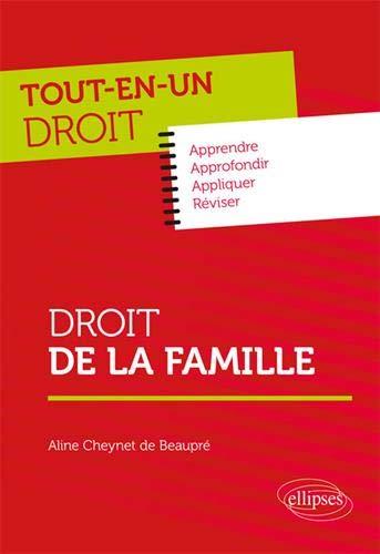 Droit de la famille par Cheynet de Beaupré Aline