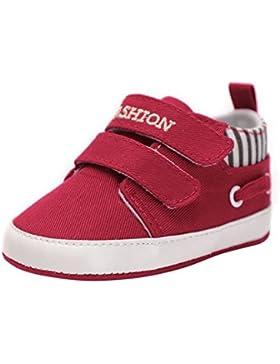 Minuya Kleinkind Baby Jungen Weiche Sohle Lässige Sneaker Schuhe Lauflernschuhe 0-18 Monate
