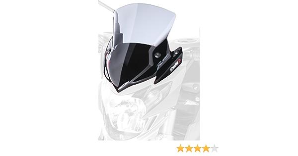 Puig 5646h Windschutzscheibe New Generation Suzuki Gsr750 11 13 Transparent Rauchgrau Auto