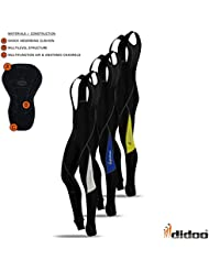 Hommes Collant À Bretelles De Cyclisme Thermal Rembourré Froides Vêtements Leggings Hiver Bike Long Pantalon