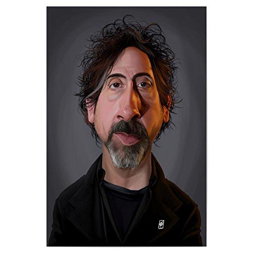 artboxONE Poster 45x30 cm Film Tim Burton hochwertiger Design Kunstdruck - Bild Film von Rob Snow