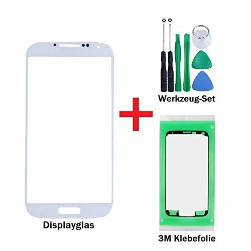 iTech Germany PREMIUM Vetro display kit di sostituzione per Samsung Galaxy S4 in Bianco - Touchscreen oleorepellente frontale per i9500 i9505 i9515 LTE +