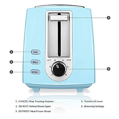 CUSIBOX-Toaster-2-Scheiben-Toaster-750W-mit-6-Brunungsstufen-Auftauen-Aufwrmen-und-Abbrechen-Funktionen-BPA-frei