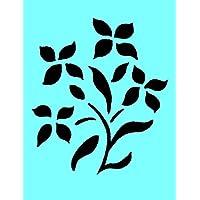 Blume 27 Airbrush, Wanddeko, aus Mylar, Schablone, wiederverwendbar, 125 micron