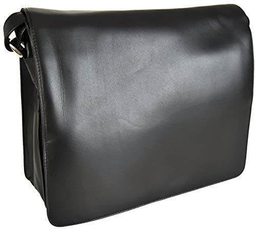 nationen Leder Organizer Handtasche 'Tess' 754 - Schwarz, M, Translation, original ()
