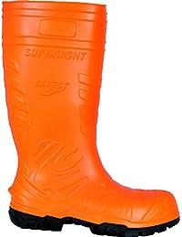 """Cofra 00060-002.W39 Chaussures de sécurité """"Safest S5 Ci SRC"""" Taille 39 Orange 1 Orange"""