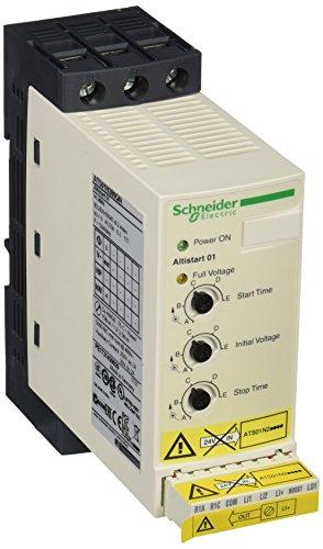 Schneider ATS01N209QN Sanftanlasser für Asynchronmotor, Ats01, 9A, 380.415 V, 4 kW -