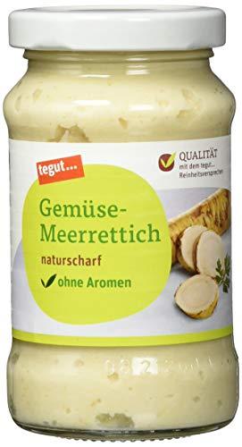 tegut... Gemüse-Meerrettich, 200 g