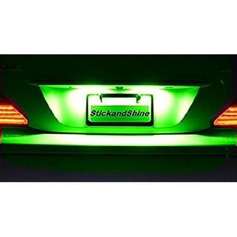 SMD LED luci della targa di immatricolazione Can verde sano adatto per Jeep Cherokee