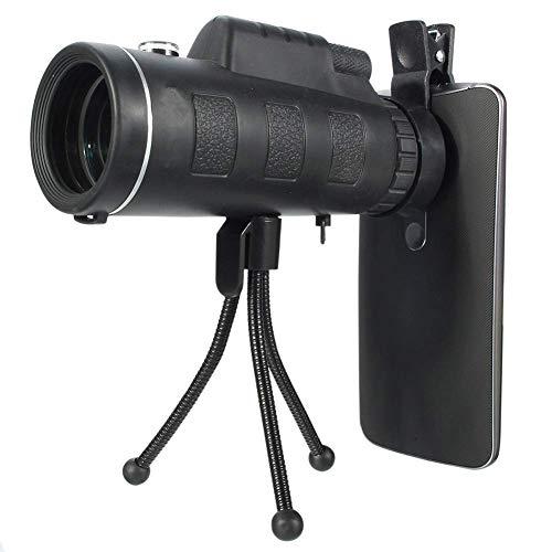 Telescopio monoculare ottico HD 40X60 Telescopio ottico da viaggio per esterni Night...