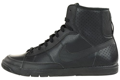 Nike Blazer Mid Metro GS Trainer Runner Leather Sneaker black Black