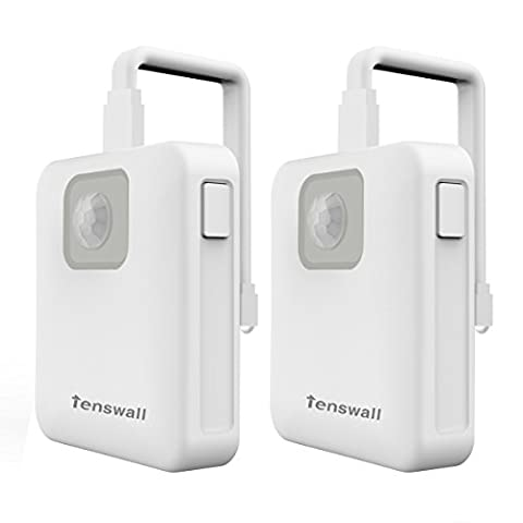 Tenswall Colorful Motion Sensor Toilet Nightlight, Home Toliet Bathroom Human