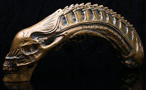 Depredador Vs Alien Modelo De Resina Cráneo Fósil AVP Figura Estatua De Juguete De Colección 5