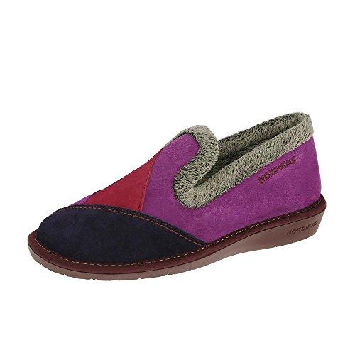 Nordikas Nordika Womens Pantofole 4508/4 Plus Porpora EU42 Purple