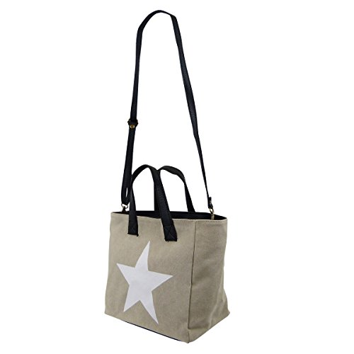 Borse in Pelle - Made in Italy, Borsa a mano donna beige