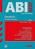 STARK Abi - auf einen Blick! Deutsch NRW 2020