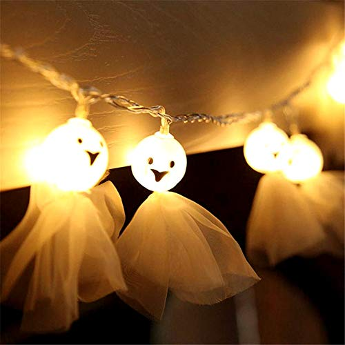 Ghost Doll Led String Light, Decorazioni Da Giardino Lampada Fairy Lights Adatto Per Soggiorno In Camera Da Letto Natale Albero Di Natale Wedding Garden Party Indoor And Outdoo