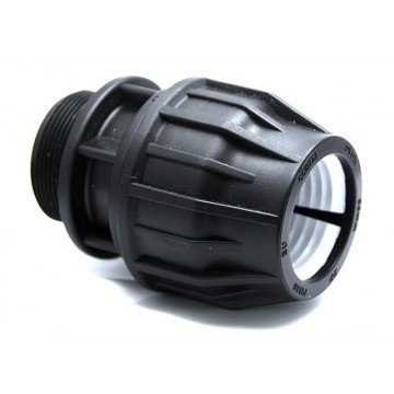 Ezfitt - Raccord compression 50mm - male 2 pouces