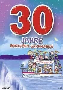 30 Geburtstag Lustig