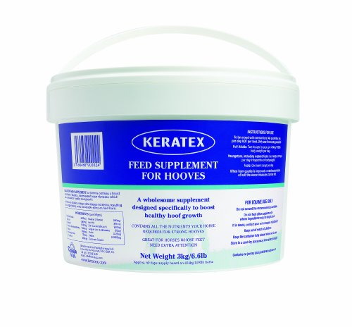 KERATEX FEED SUPPLEMENT FOR HOOVES - 3 KG - EPC0014