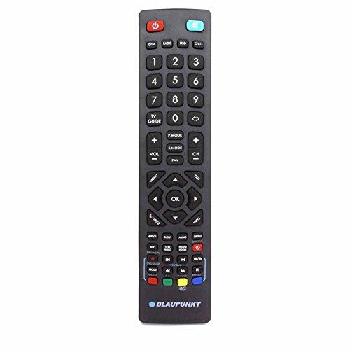 Telecomando universale per Blaupunkt LCD LED 3D HD Freeview TV - Con due batterie AAA 121AV incluse