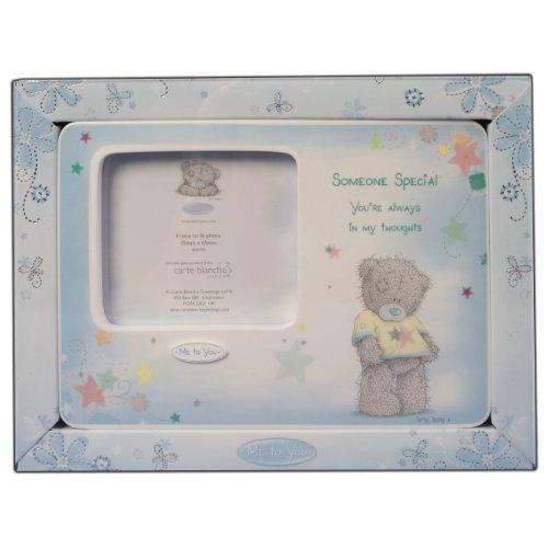 Me to You Tatty Teddy - Portafoto con orsetto, scritta: Someone special, dimensioni: 7 x 6 cm, colore: Viola