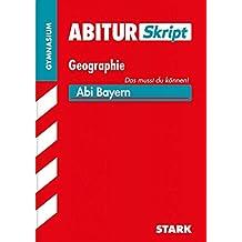 Abiturskript Bayern Geographie